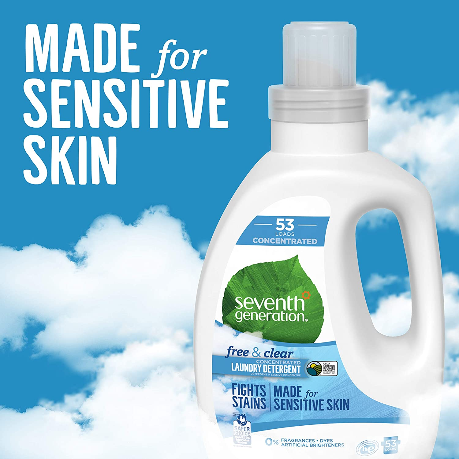Amazon.com: Detergente líquido Seventh Generation, 2 ...