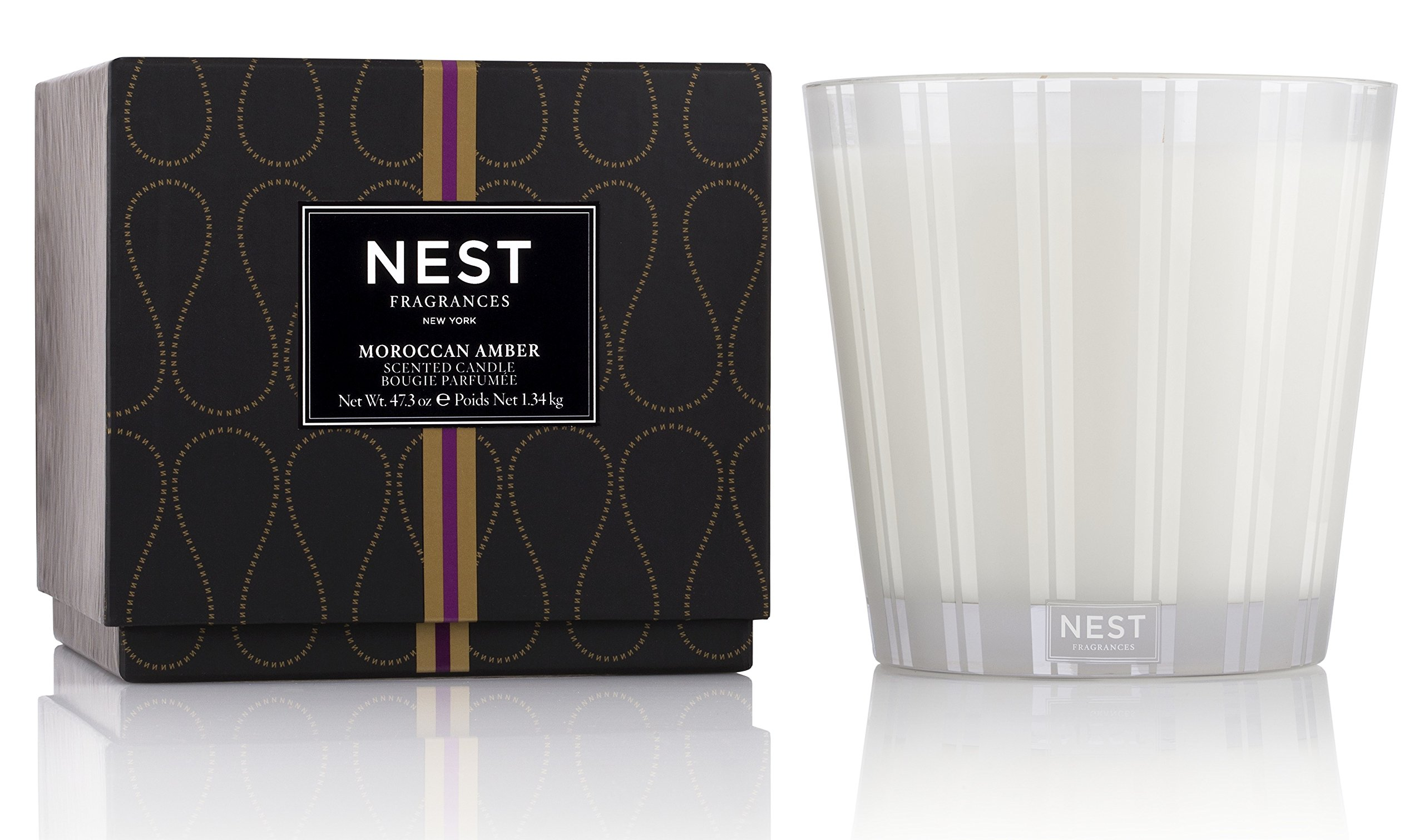 NEST Fragrances Moroccan Amber Luxury Candle 47.3 oz