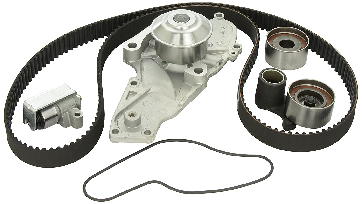 Gates Tckwp286a Engine Timing Belt Kit With Water Pump On All Engines Except Vtec The Adjuster Arm Must Be Locked In Automotive