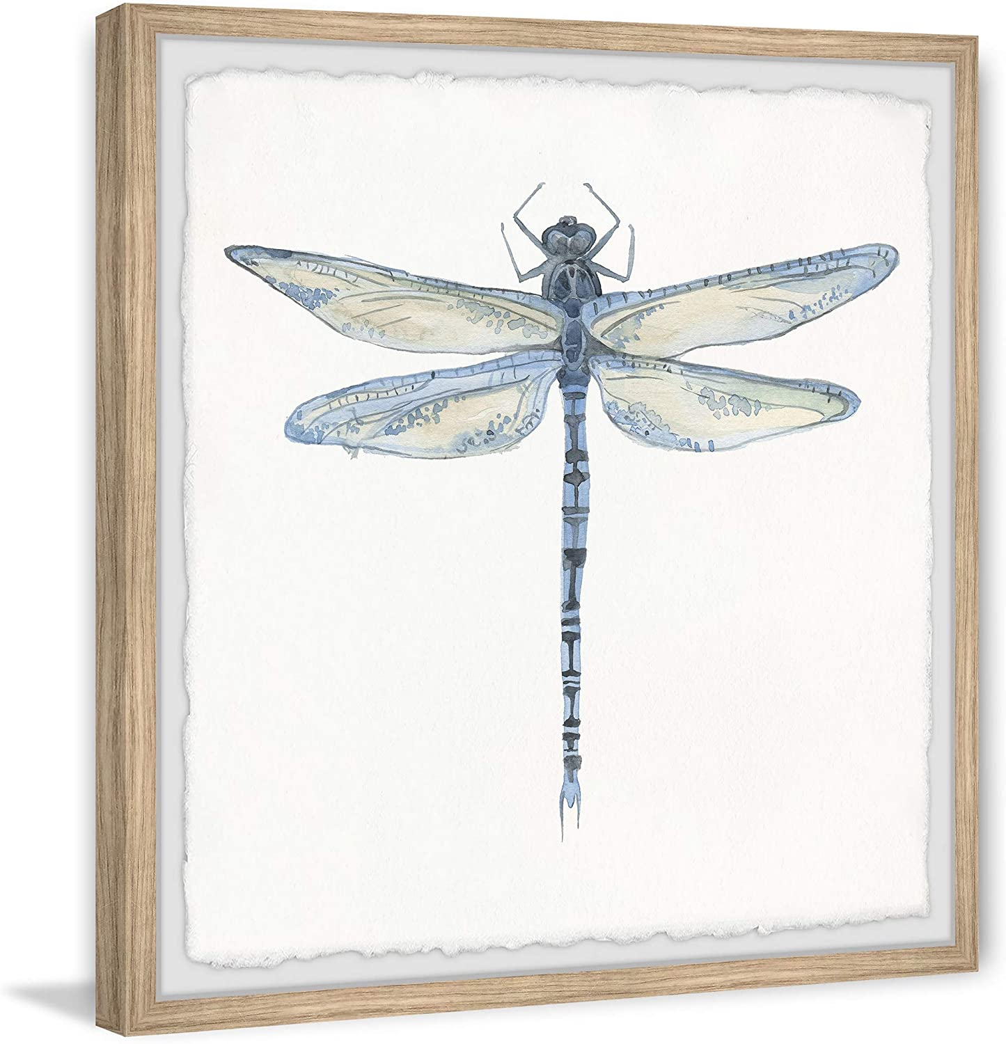 Collectibles Wooden Dragonfly Wall Art Dragonflies Shabby Cottage Chic Hanging Decor Set Of 2 Dragonflies Cloudtrack In