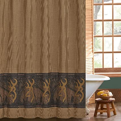Amazon Buckmark Browning Oak Tree Shower Curtain 72 X