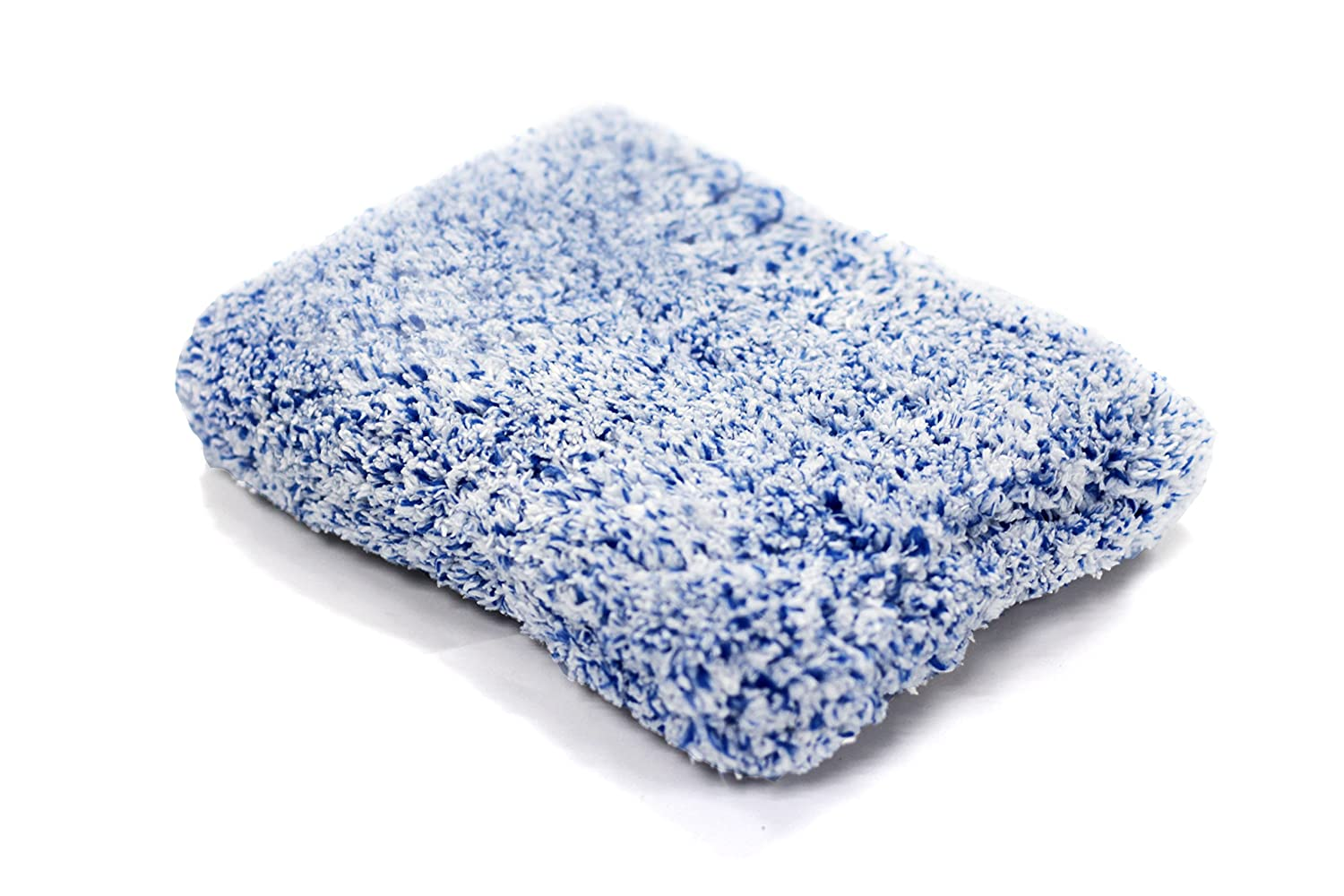 Maxshine Microfiber Wash Pad for Car Cleaning, Blue&White