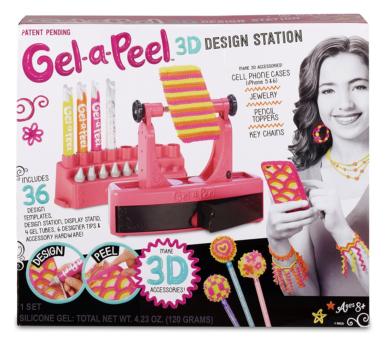 Gel-a-Peel 3D Accessory Design Station - 4 Gel Tubes [並行輸入品]   B01N44H74H