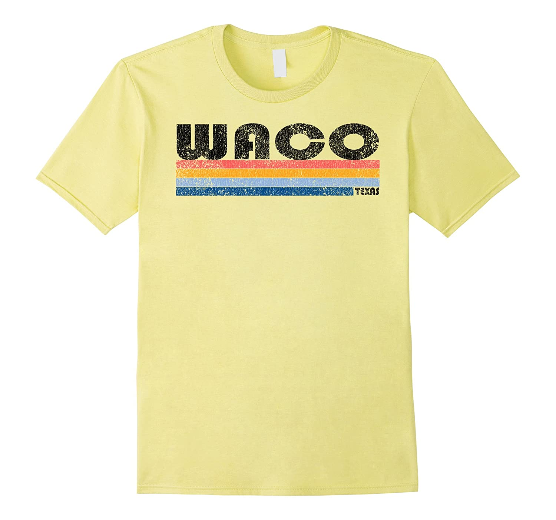 Vintage 1980s Style Waco Texas T Shirt-CL