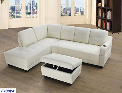 Super Amazon Com Lifestyle Furniture Left Facing 3Pc Sectional Dailytribune Chair Design For Home Dailytribuneorg