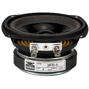 """GRS 3FR-4 Full Range 3"""" Speaker Driver 4 Ohm"""
