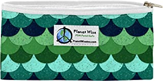 product image for Planet Wise Reusable Zipper Sandwich and Snack Bags, Snack, Loch Ness Poly