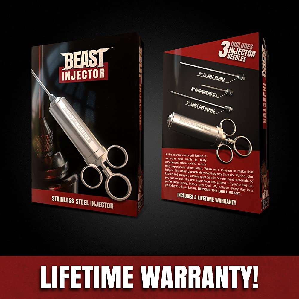 The Grill Beast Stainless Steel Meat Injector Kit Review