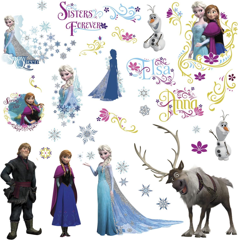 Disney Olaf Frozen Vinyl Decal 12 Colors 4 Sizes Wall Nursery Window Car Sticker