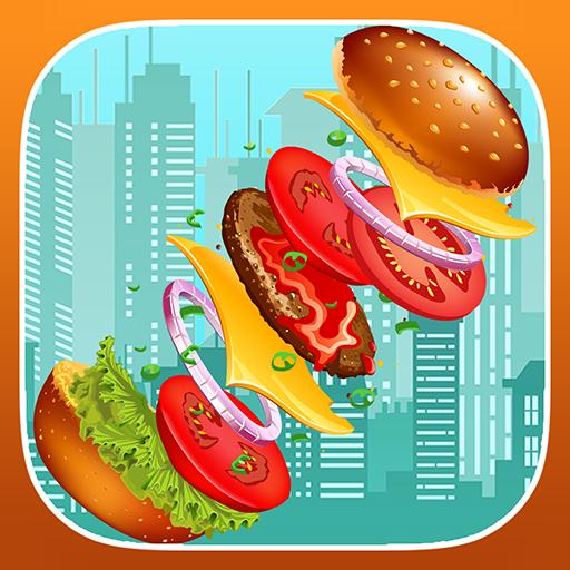 Free Burger (Sky Burger : Tower Burger)