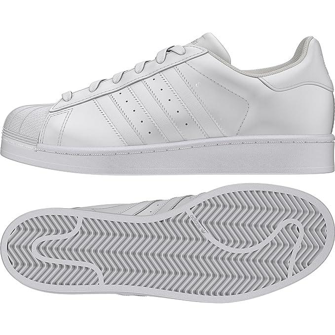14b7a838ba7 Adidas Superstar J GS Sneakers Gymnastique Chaussures femme Fille ...