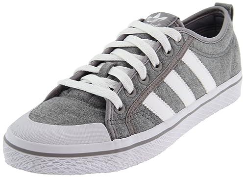 outlet store 9b9dc 970ea adidas Originals Women s Honey Stripes Lo W-W Retro Sneaker,Medium Grey  Heather White