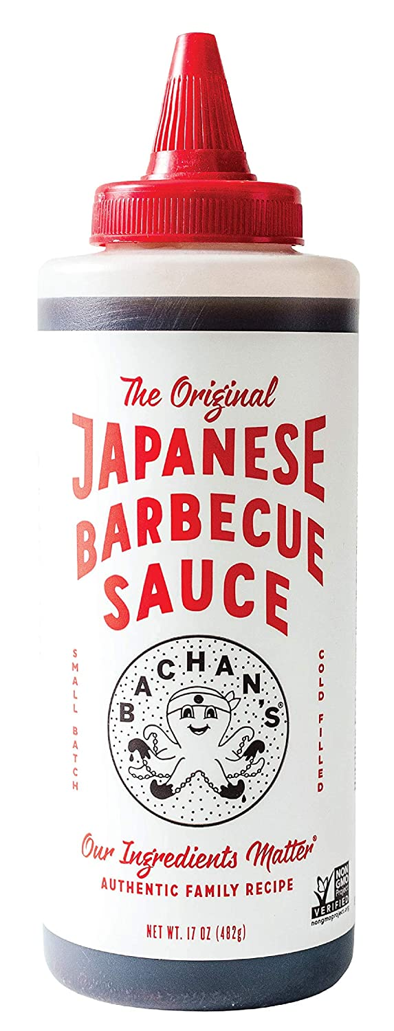 Bachan's - The Original Japanese Barbecue Sauce, 17 Ounces. Small Batch, Non GMO, No Preservatives, Vegan and BPA free