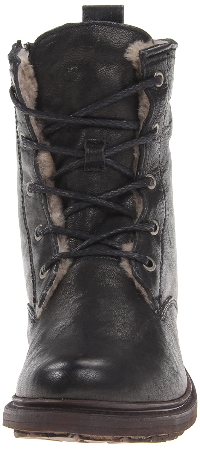 FRYE Women's Valerie Shearling Lace-Up Boot B00BGBRTYW 10 B(M) US|Black-75017