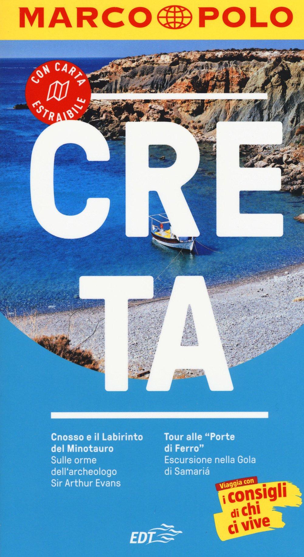 Cartina Geografica Dell Isola Di Creta.Amazon It Creta Con Carta Geografica Botig Klaus Galvan G Giorsetti V Libri