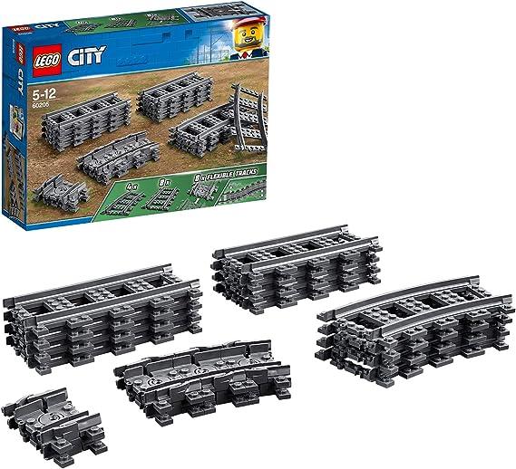 2 gewölbte LEGO®  Monorail  Schienen