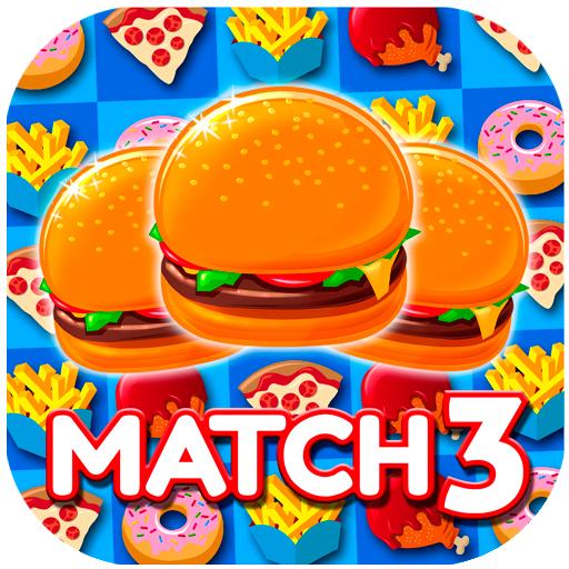 Burger Free (Super Burger Match3: Smash Yummy Grub)
