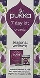 Pukka Herbs - 7 Day Wellness Kit - Seasonal Tea and Supplements with Andrographis