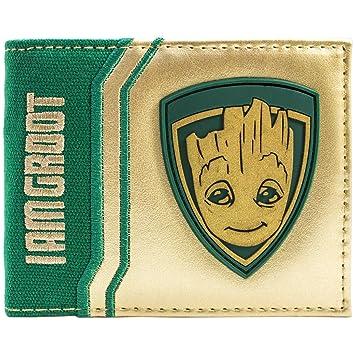 Cartera de Guardians of the Galaxy Vol. 2 Bebé Estoy Groot Oro: Amazon.es: Equipaje