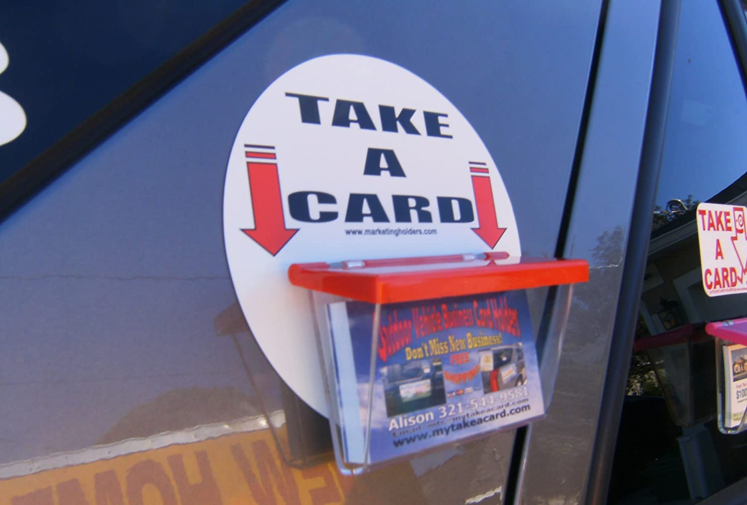 Marketing Holders Magnetic Outdoor Vehicle Business Card Holders ...