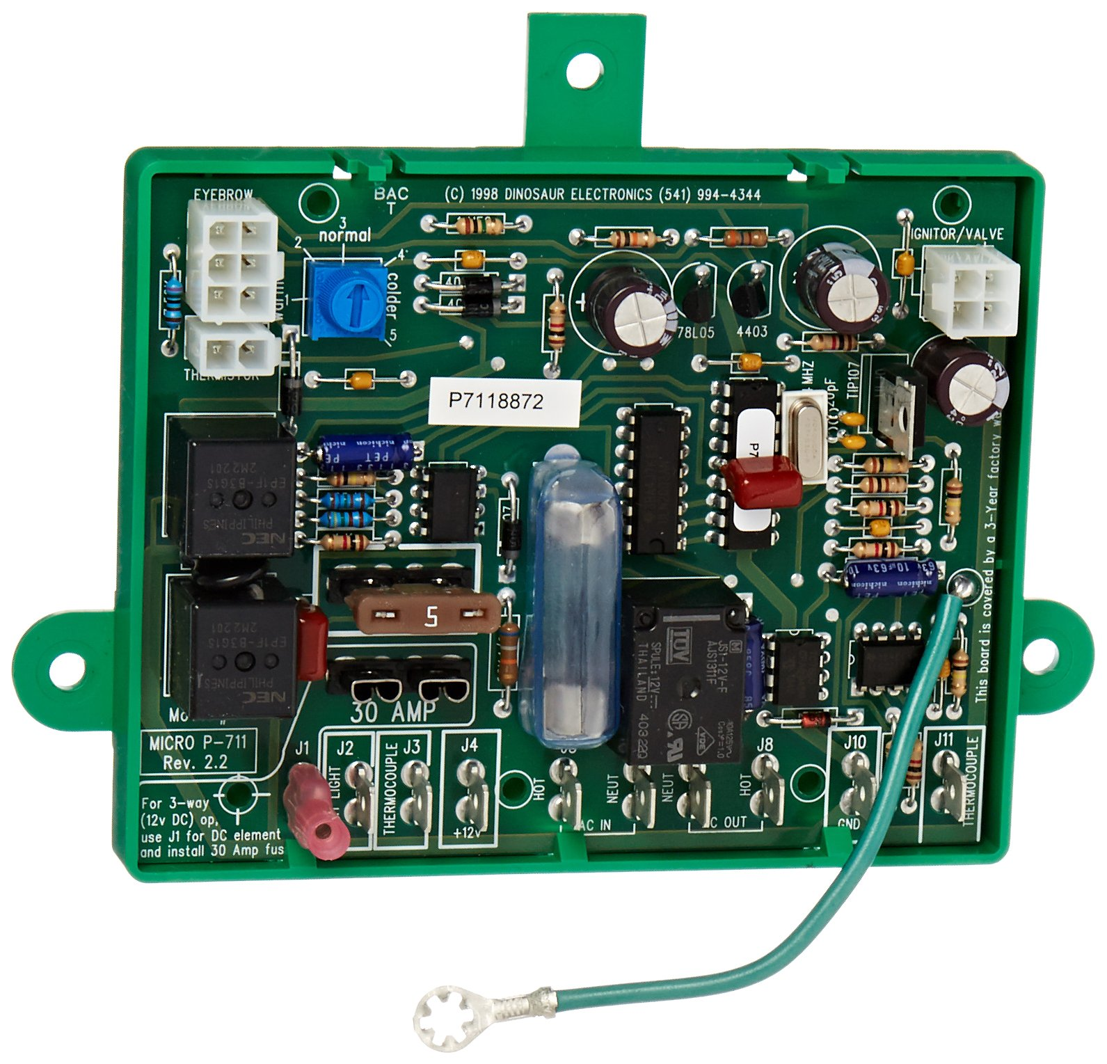 Amazon.com: Dinosaur Electronics (MICRO P-711 Domestic Control Board:  Automotive