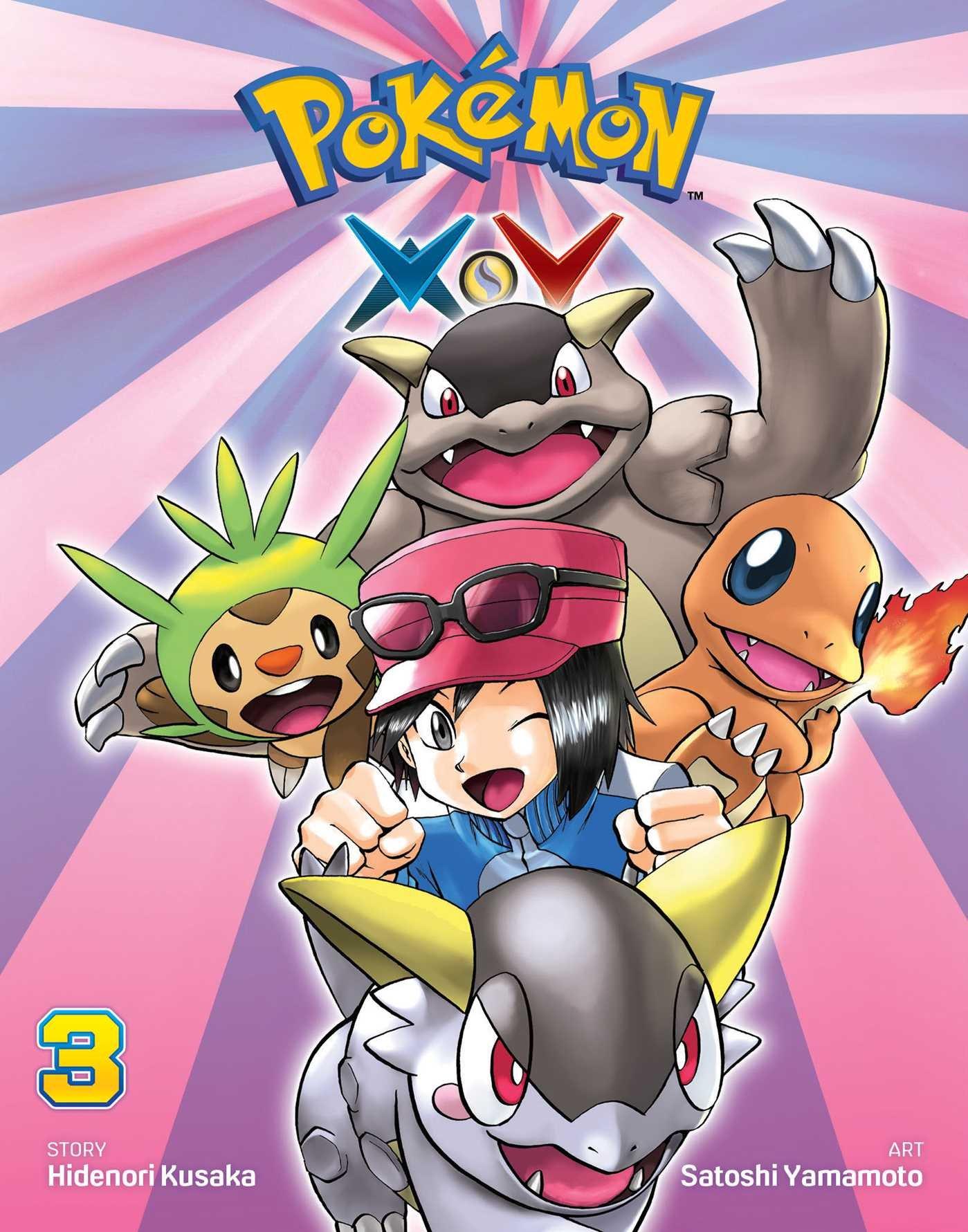 Pok%C3%A9mon X Y Vol 3 Pokemon product image