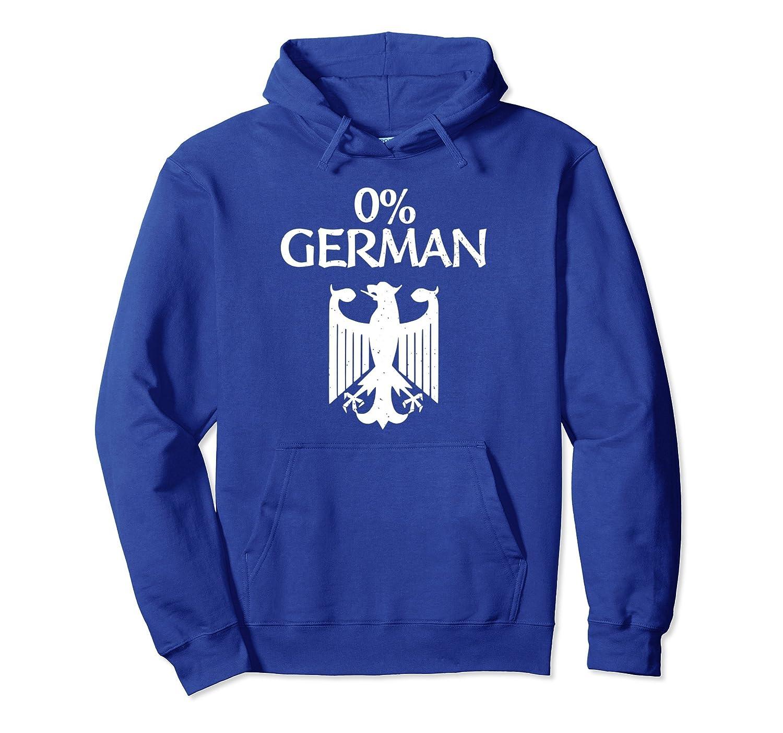 0% German Hoodie - Oktoberfest 2018 0 Percent German Gift-AZP