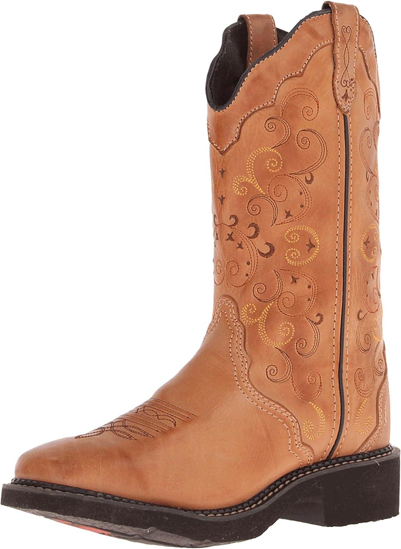 Justin boots marron marron Caramel l2907 westernreitstiefel bottes l2907 femme Caramel 52b7187 - fast-weightloss-diet.space