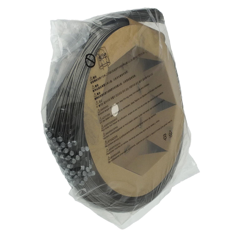 SHIMANO(シマノ) Steel ブレーキインナーケーブルボックス(φ1.6mm×2050mm/100本) MTB用 Y80098521 B00D600TL6