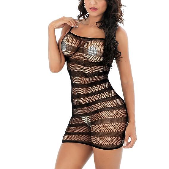 SSScok Lencería Sexy para Mujeres BabYUEDEoll Mini Vestido Camisón Lencería Ropa Erótica: Amazon.es: Ropa y accesorios