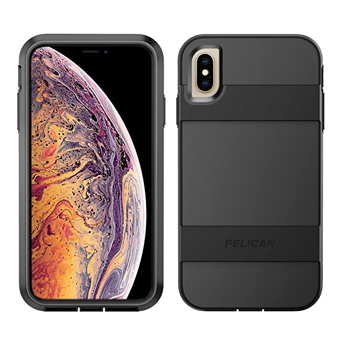 2d862cefc3e Amazon.com: Pelican Voyager iPhone Xs Max Case (Black): Cell Phones ...