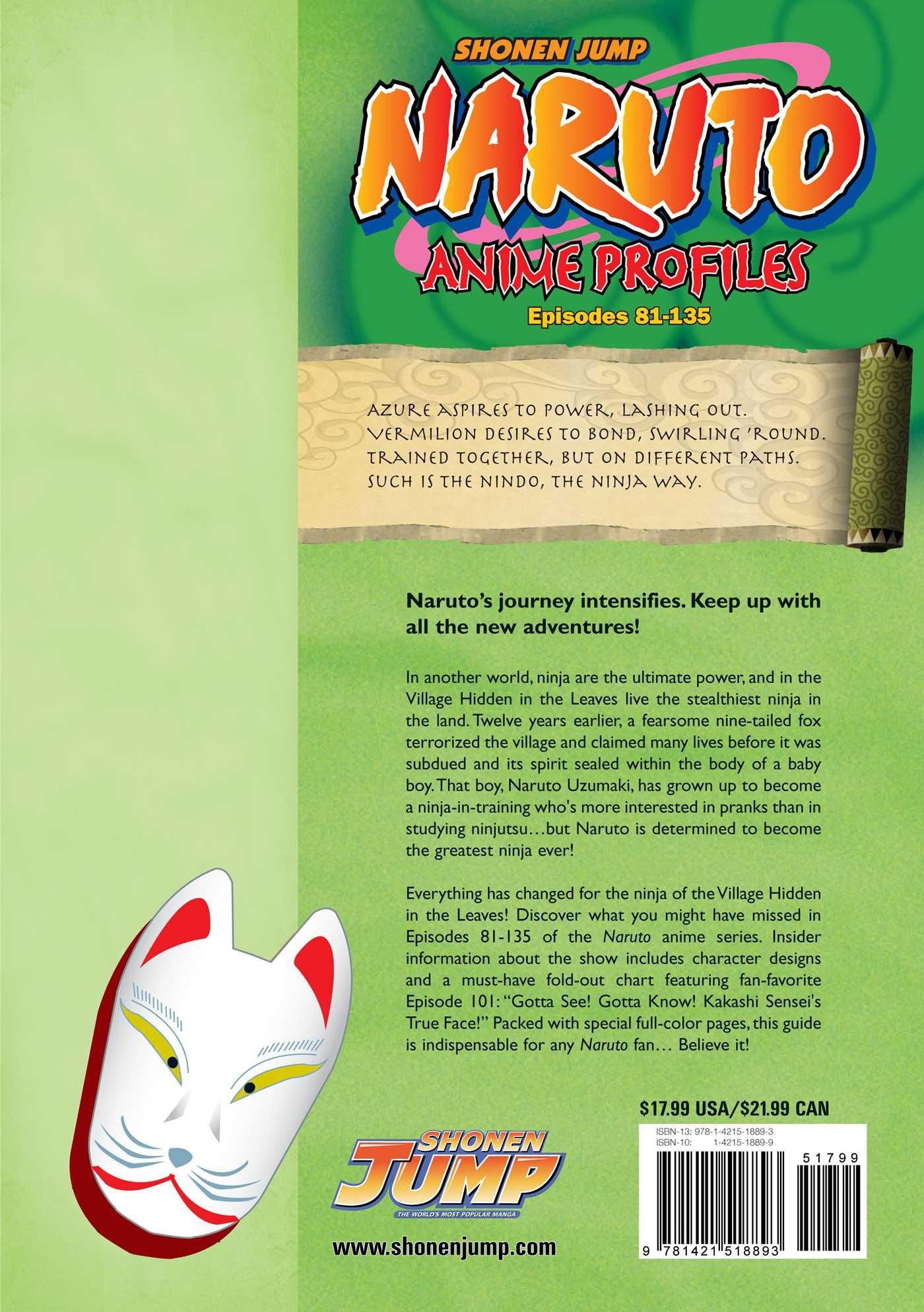NARUTO ANIME PROFILES EPISODES 81-135: Amazon.es: KISHIMOTO ...