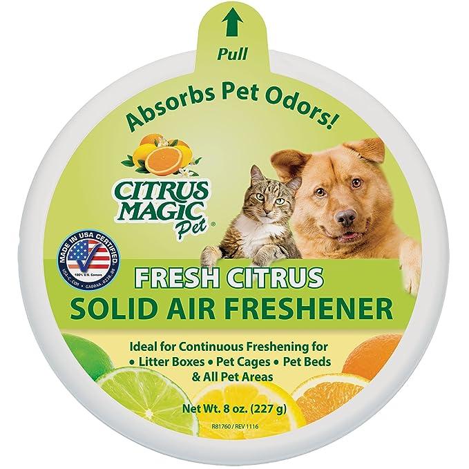 Citrus Magic Pet Odor Absorbing Solid Air Freshener