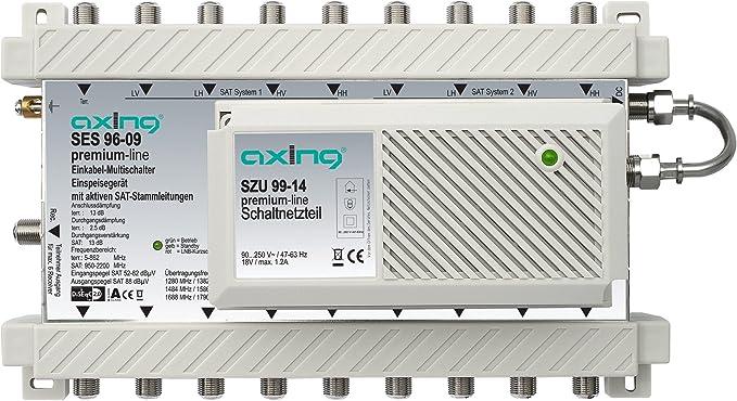 Axing Ses 96 09 Einkabel Multischalter Mit Aktiven Elektronik