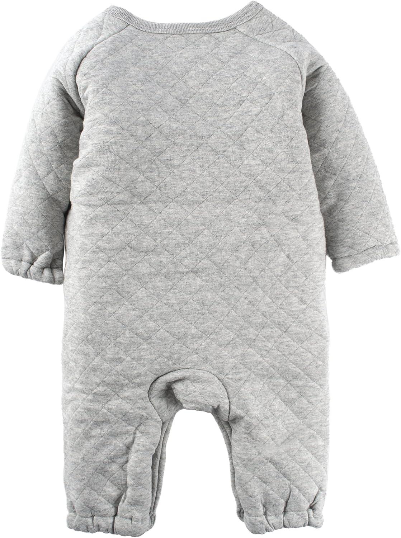 Big Elephant Baby girls1 Piece Winter Cute Snap Up Long Sleeve Romper L80C