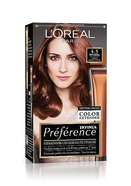 Preference L Oreal Paris Coloration Permanente 4 5 Marron Acajou