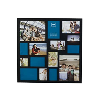 65d2bb5ab5c Amazon.com - Melannco 15-Opening Collage Frame (24 x 24-Inch