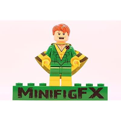 LEGO Custom Banshee Minifig Marvel X-Men Mutant Sean Cassidy: Toys & Games