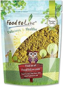 Broccoli Sprout Powder, 2 Ounces - Kosher, Vegan, Sirtfood, Bulk