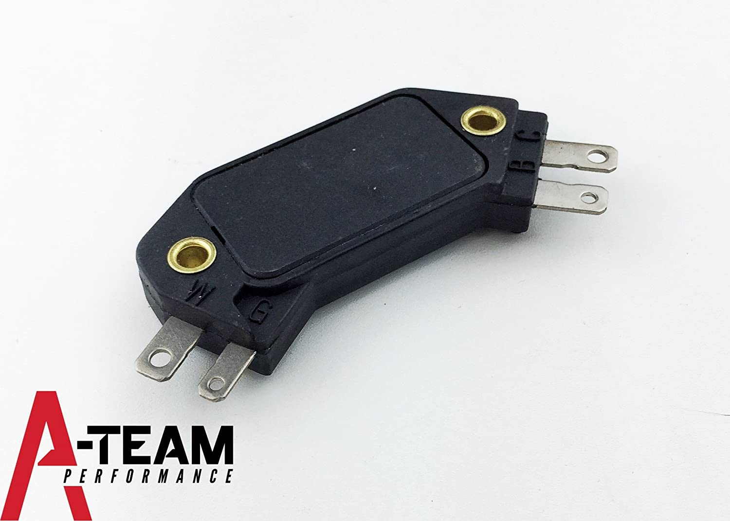 A Team Performance 4 Pin Ignition Module Replacement For Mopar Hei Wiring In Gm Distributors Compatible With Chevy Olds Pontiac D1906 Automotive