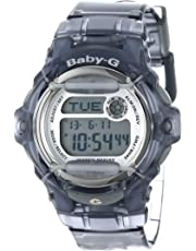 """Casio Women's BG169R-8""""Baby-G"""" Gray Resin Sport Watch"""