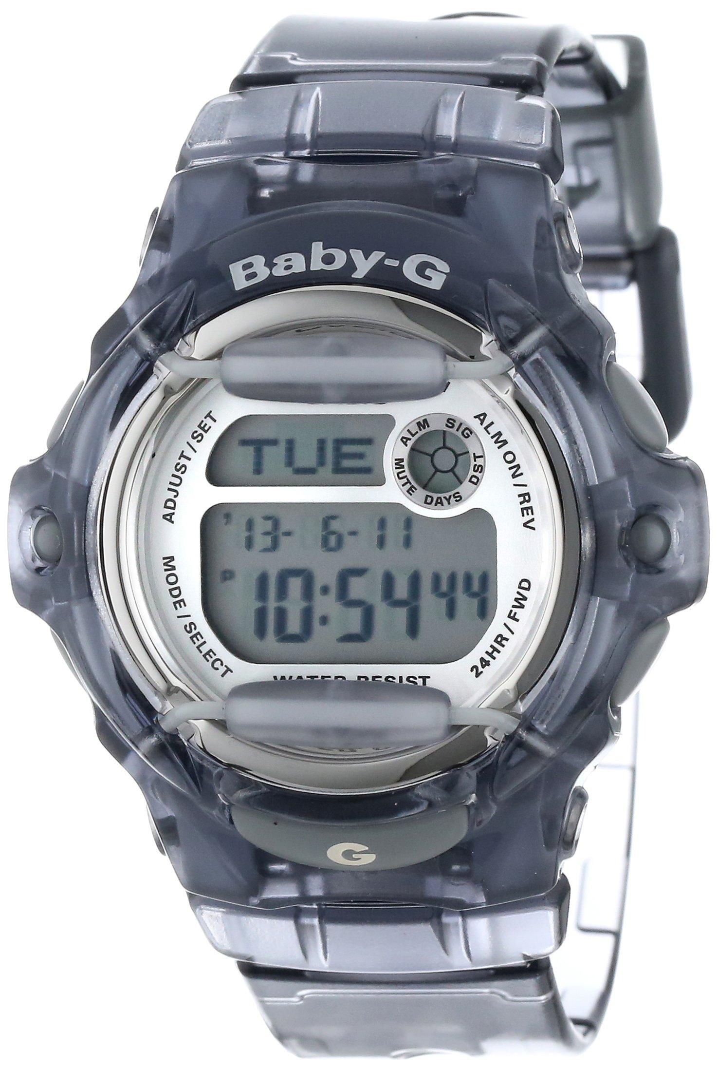 Casio Women's BG169R-8 ''Baby-G'' Gray Resin Sport Watch