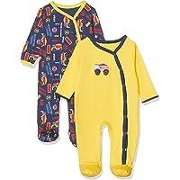 Gambino Baby Boys_3 Erkek bebek Kısa Tulum