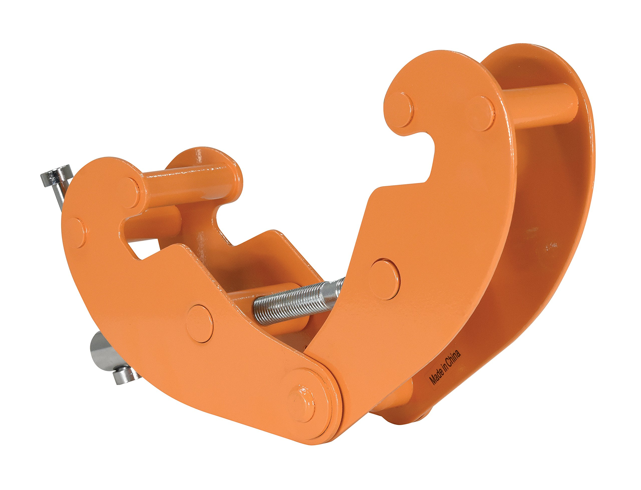 Vestil BC-1 Steel Beam Clamp, 1000 lbs Capacity, 3-1/8'' to 9-5/8'' Flange Width