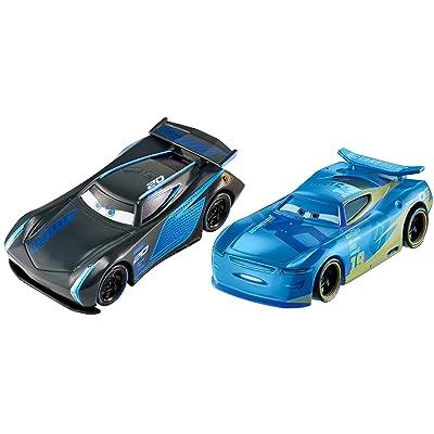 Disney Pixar Cars 3: Jackson Storm & Danny Swervez Die-cast 2-Pack: Toys & Games