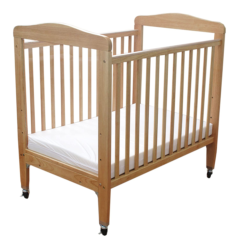 Amazon.com : LA Baby Compact Non-folding Wooden Window Crib, Natural : Baby - Amazon.com : LA Baby Compact Non-folding Wooden Window Crib