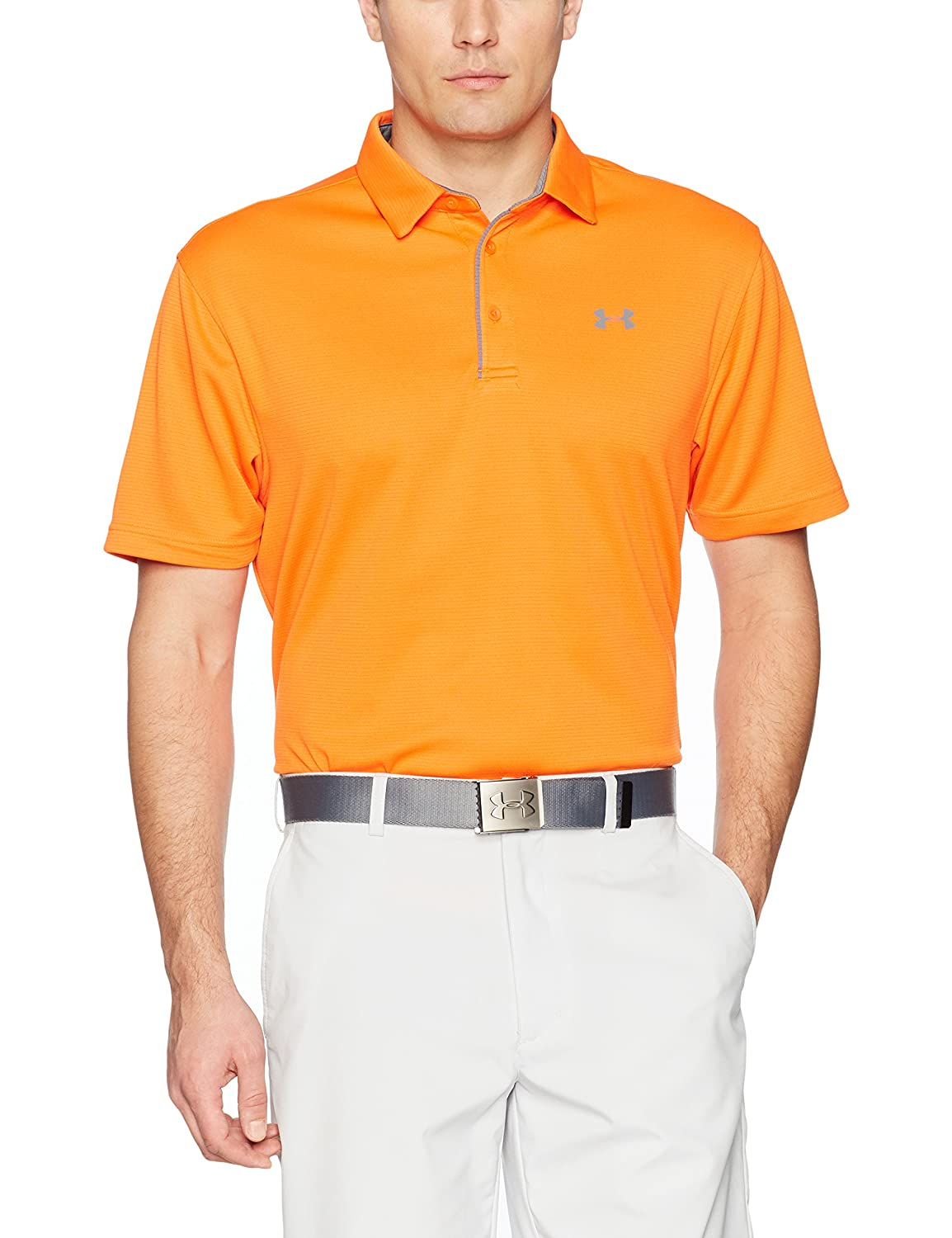 (アンダーアーマー) UNDER ARMOUR テックポロ(ゴルフ/ポロシャツ/MEN)[1290140] B0716ZJV1S 3X-Large Tall|Team Orange/Graphite Team Orange/Graphite 3X-Large Tall