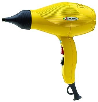 Gamma Piu IES - Secador de pelo, color amarillo: Amazon.es: Salud y cuidado personal