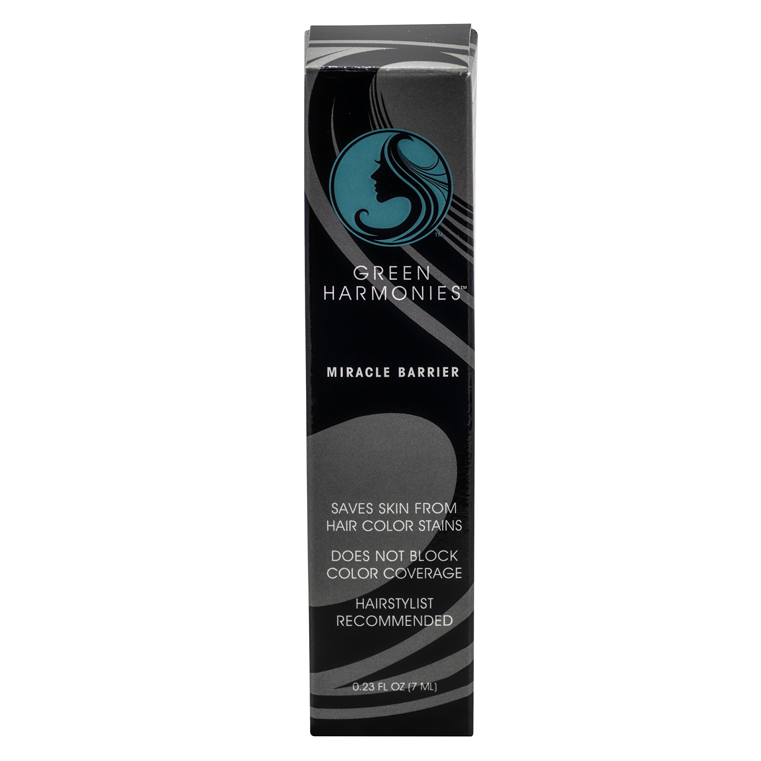 Miracle Barrier travel size .23 oz (7ml) Prevents hair color stains on the face with gentle and kind ingredients. Color your hair not your face!