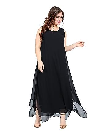 Damen Kleid Abendkleid dezent auch Große Größen, schickes Kleid ...